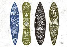 Graphic & hand-lettering boards #skateboard #surfboard #longboard #snowboard