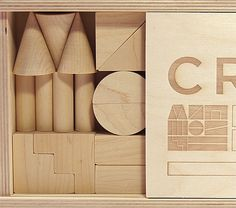 Invisible Creature Speaks » Blog Archive » Formubung 1.0 #branding #design #product #wood #blocks #toy