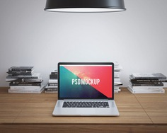 Laptop on wooden desk mock up Premium Psd. See more inspiration related to Mockup, Template, Laptop, Web, Website, Mock up, Desk, Wooden, Templates, Website template, Mac, Screen, Macbook, Mockups, Up, Web template, Realistic, Real, Web templates, Mock ups, Mock, Ups and Keybord on Freepik.