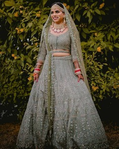 Spellbinding Belted Lehengas for Brides and Bridesmaids