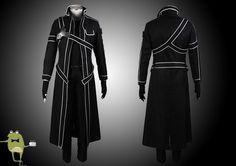 Sword Art Online Kirito Cosplay Costume + Wig #costume #kirito #cosplay