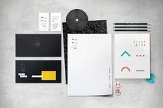 Corporate Identity / Wayfinding for CK Zamek on Behance #paper #black #identity #branding