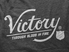 Dribbble - Victory by Ryan Clark #type #clack #ryan