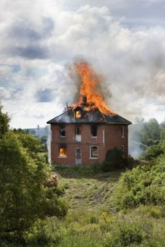HMAb: The Fundraiser- Lorne Bridgman #photography #fire #house
