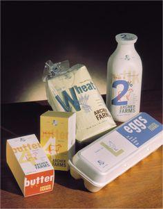 Archer Farms #butter #dairy #packaging #eggs #design #werner #werks #milk