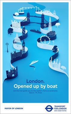 Advertising poster for TFL More