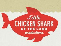 Dribbble - Little Chicken Shark of the Land by Bennie Kirksey Wells #logo #illustration #art