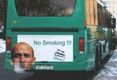 Viral Markedsføring | 5-trins guide til succesfuld viral markedsføring #bus #guerilla #campaign #print #commercial #smoking