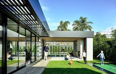 Two Storey Residential Pavilion with Casual Luxury Interiors 1