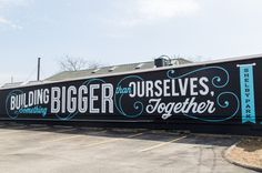 Mural in Louisville, KY #type