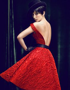Li Bingbing by Chen Man for Vogue China #fashion