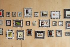 design work life » cataloging inspiration daily #interior #frames #design