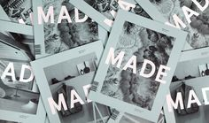 MADE Quarterly, Edition One Features #cover #print #magazine