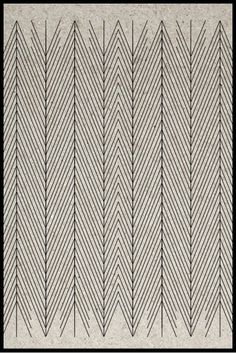 SUZANNE CLEO ANTONELLI #herringbone #pattern #geometric