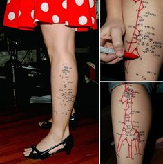All sizes | My Connect-the-Dots Tattoo was chosen for a Book O' Tattoo Weirdos | Flickr - Photo Sharing! #gjraff