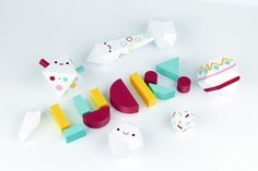Lucky Toys on Behance #papercraft #toys #paper #lobulo