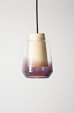 """In Theory"" by Marianne Andersen. #design #product design #wood #glass #lamp"