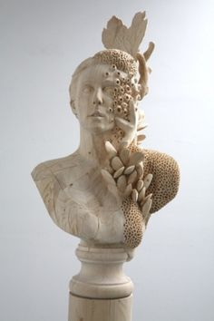 v o l t a r #barnacles #bust #sculpture #art