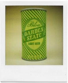 All sizes | Bilow Garden State Light Beer | Flickr - Photo Sharing! #vintage #packaging #can