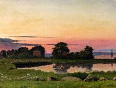 Vilhelm Kyhn Skanderborg Leksikon #painting
