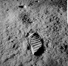 moon, walk, footprint, nasa