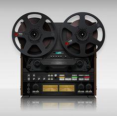 Tape machine #tape #machine #audio #recording #anchor #hip