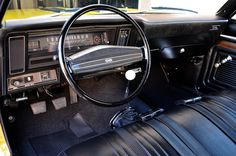 chevy nova, classic car interior, car porn, vintage dashboard, retro cars, car, vintage, photography