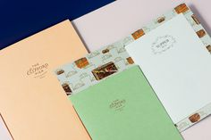 The Clifford Pier #menu #identity #print #food