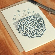 Andrew Frazer #ink #card #print #illustration #pen #typography