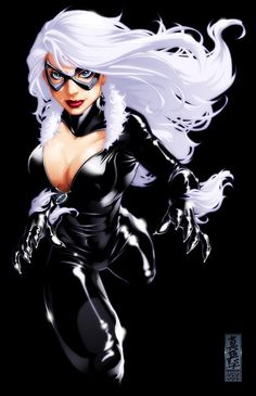 Black Cat in Mark Brooks art comic