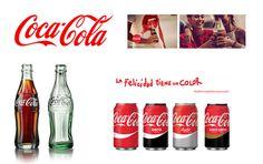 Corporate identity of Coca-cola #corporate #identity #image #coke