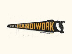 Handiwork by Josh Warren #type