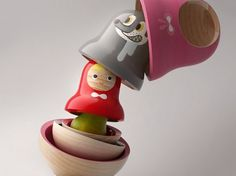 Pistacchi Design | Fubiz™ #sculpture #red #riding #design #little #industrial #hood