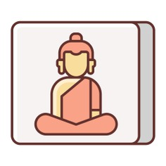 See more icon inspiration related to buddha, religion, india, wellness, buddhism, cultures, sports and competition, religious and avatar on Flaticon.