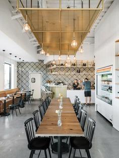 Matt Fajkus Architecture, cafe, interior design
