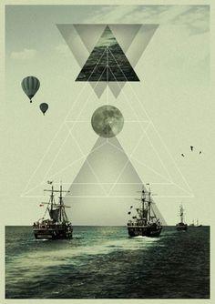 ✖KØNSTRUKTIVIST✖ #poster #triangle #design #geometric