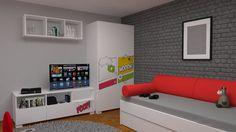 Zaprojektuj pokój swojego nastoletniego dziecka utrzymując klimat komiksów. Zobacz więcej na https://www.meblik.pl/kolekcja/comics/