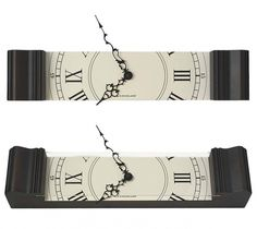 kikkerland sliced grandfather clock   urban taster