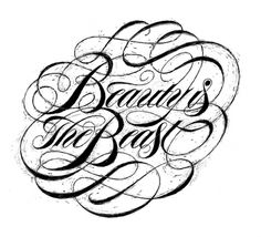 Boris Pelcer © Beauty Is The Beast #draw #type