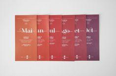 XXV Cicles de Música UB | Atipus #identity #editorial