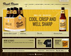 Rush River Brewing Website