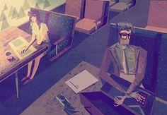 Stunning Illustrations by Matthew Lyons | 123 Inspiration