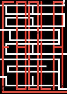 Poster - nicolas brivio | grafik #labyrinth #black #europa #poster #plakat #ebola