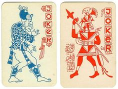 mayan playing cards #playing cards #joker