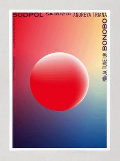 Feixen_FelixPfaeffli_GraphicDesign_Suedpol_Bonobo_n.gif (375×505) #risograph #design #graphic #poster