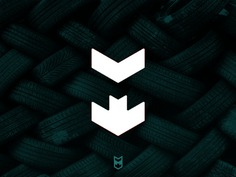 M Logo + Arrow Logomark