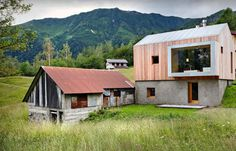 Old barn transformed into a retreat #architecture