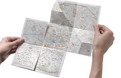 Design #print #folding #map #zoomable