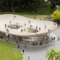 Dezeen architecture and design magazine #hire #velodrome #bicycle #cycle #architecture #dutch