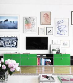 framed gallery #interior design #decoration #decor #deco